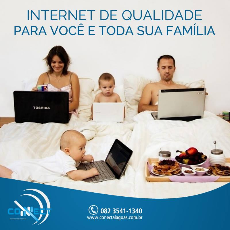 Connect o seu provedor de internet